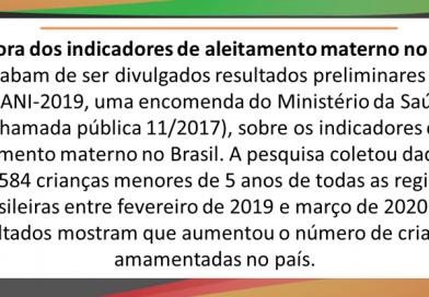 PESQUISA MAPEIA O ALEITAMENTO MATERNO NO BRASIL